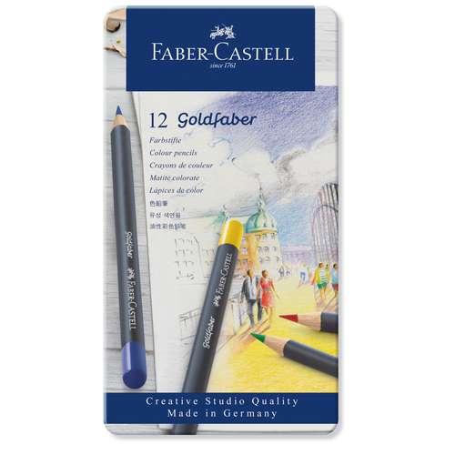 Coffrets crayons de couleur Goldfaber Faber Castell