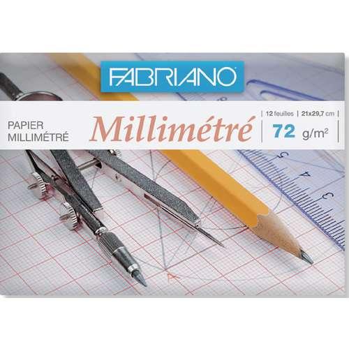 Pochette de papier millimétré Fabriano