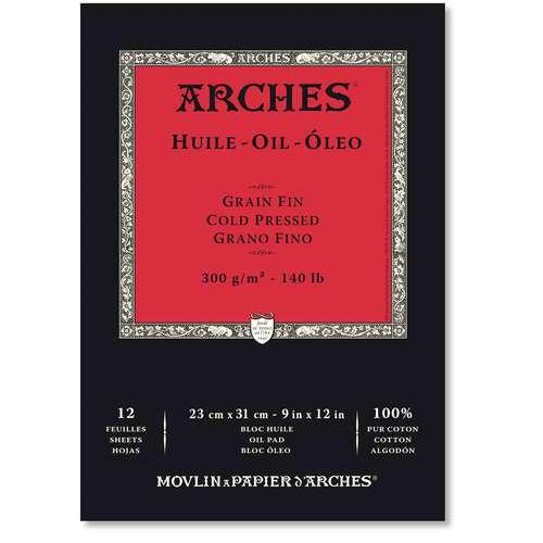 Blocs de papier huile Arches ®