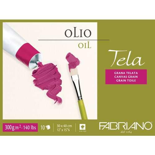 Papier spécial huile Tela Fabriano 300g/m²