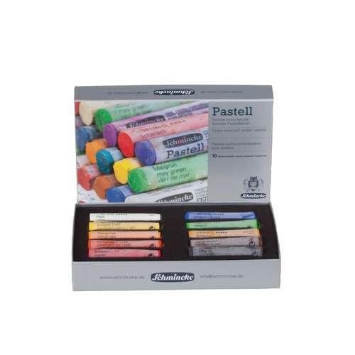 Coffret en carton Schmincke 10 pastels