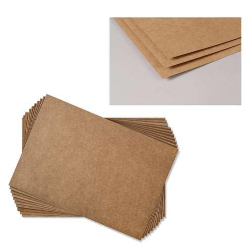 Papier kraft brun Clairefontaine (400g/m² - Paquet de 10 feuilles)