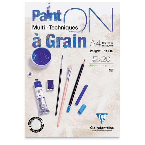 Paint On Clairefontaine (à grain)