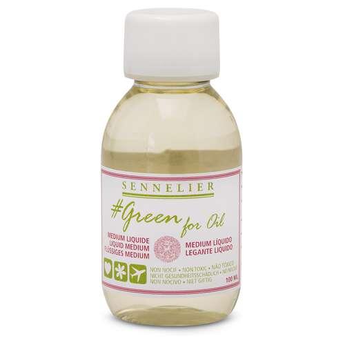 Médium liquide Green for Oil Sennelier