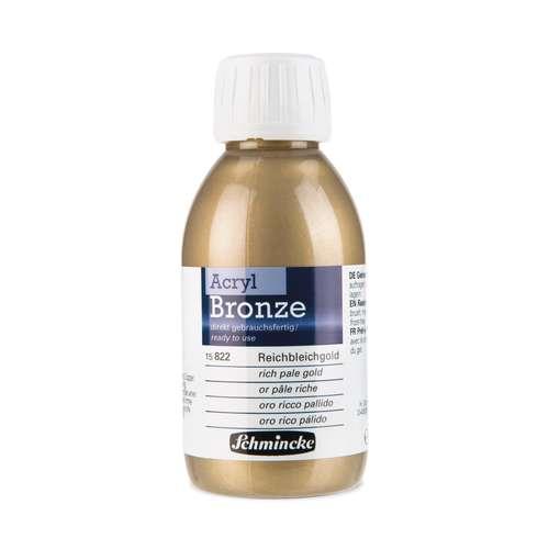 Couleurs bronzes acrylique de Schmincke