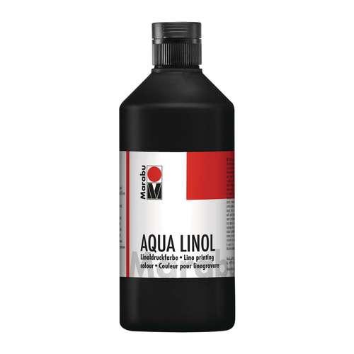 Encre à l'eau Marabu Aqua pour linogravure