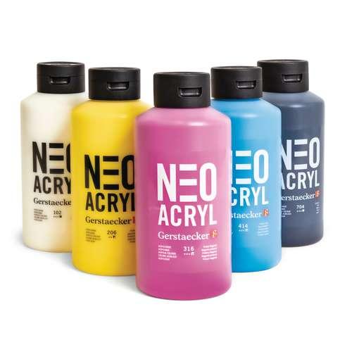 Set NEO ACRYL - 5 x 750 ml