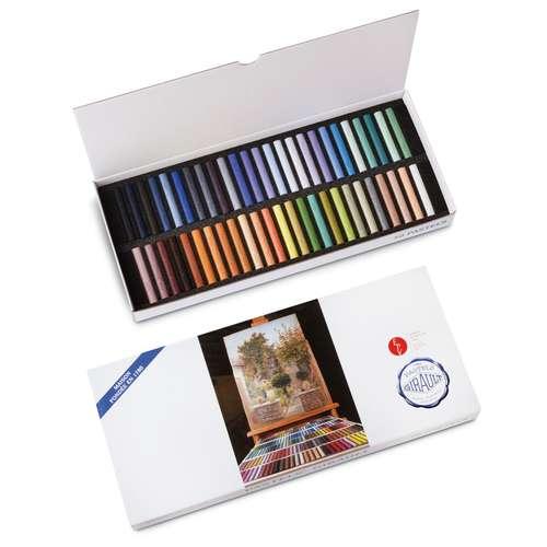 Coffrets en carton de 50 pastels Girault