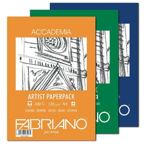 Paquet de feuilles Accademia Fabriano
