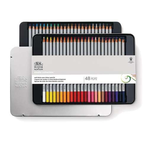 Coffret de crayons de couleur Winsor et Newton