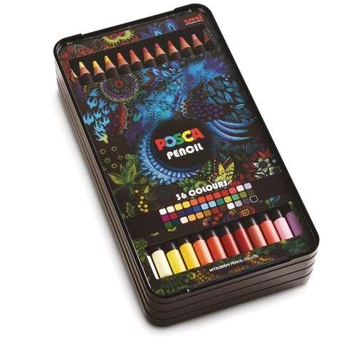 Coffet de 36 crayons de couleurs Posca