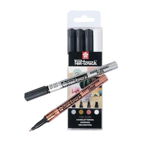 Set de 4 marqueurs Pen-Touch