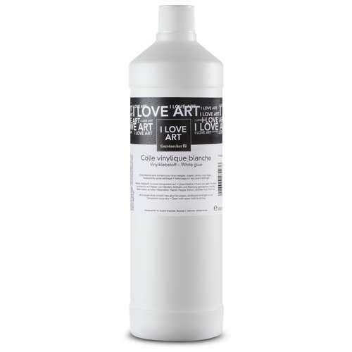 Colle vinylique blanche I Love Art - 1 litre