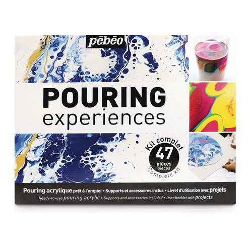 Coffret complet Pouring Expériences 47 éléments Pébéo