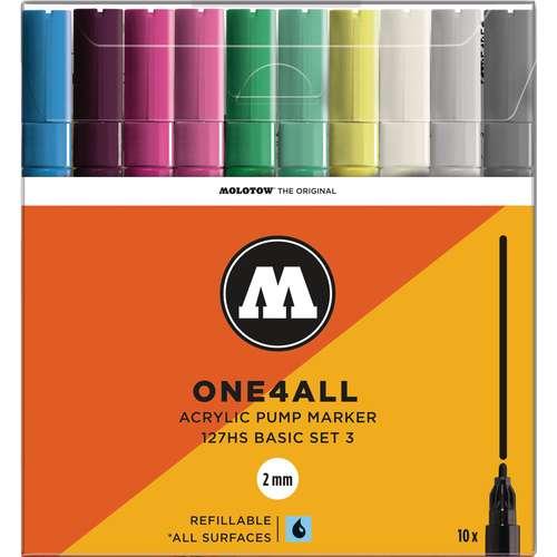 Set de marqueurs One4All 127 HS - 2mm