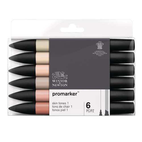 Set de 6 marqueurs Promarker