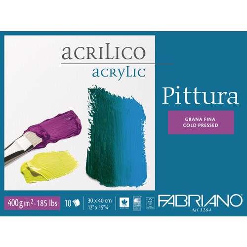 Papier pour acrylique Pittura de Fabriano