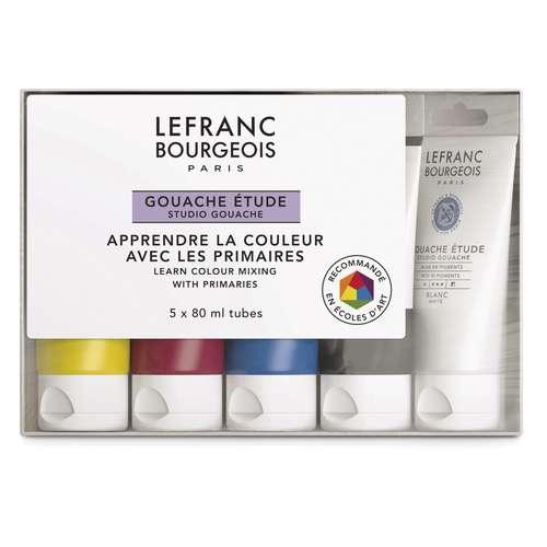 Coffret gouache étude Lefranc Bourgeois