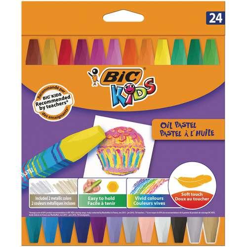 Coffrets de pastels à l'huile Bic Kids