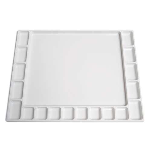 Palette rectangulaire en plastique - 20 x 30cm