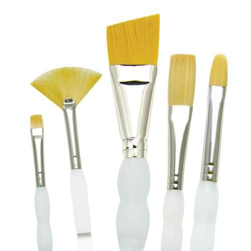 Set de 5 pinceaux Soft Grip Royal & Langnickel