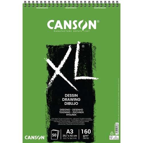 Bloc Canson XL dessin 160 g/m²