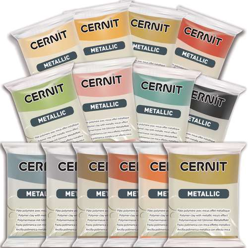 Cernit gamme Metallic et Opaline