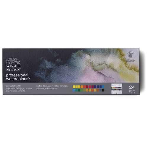 Coffret de peinture aquarelle Professional Water Colour de Winsor & Newton (en métal)