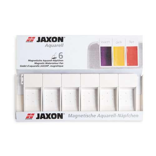 Lot de 6 godets vides magnétiques JAXON